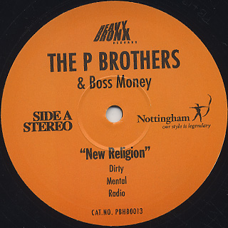 P Brothers / New Religion c/w Shoot 'em Down back