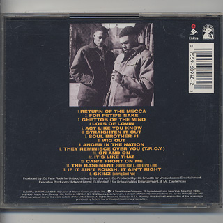 Pete Rock & CL Smooth / Mecca & The Soul Brother (CD) back