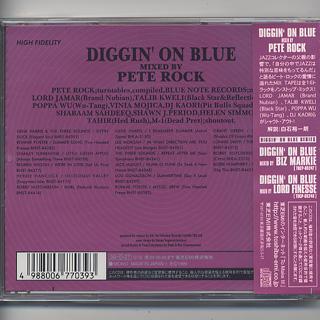 Pete Rock / Diggin' On Blue (CD) back