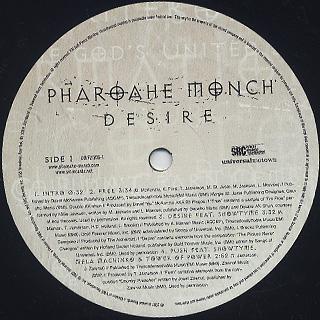 Pharoahe Monch / Desire (2LP) back