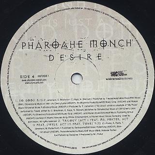 Pharoahe Monch / Desire (2LP) label