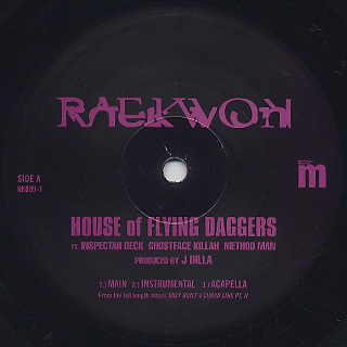 Raekwon / House Of Flying Daggers label