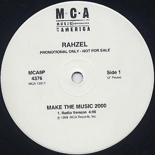 Rahzel / Make The Music 2000 back