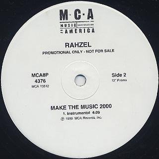 Rahzel / Make The Music 2000 label
