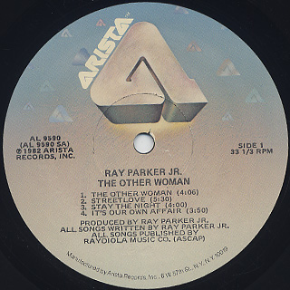 Ray Parker Jr. / The Other Woman label