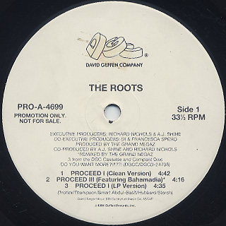 Roots / Proceed (Pt.1 & 3) back