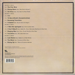 Roots / Rising Down (2LP) back