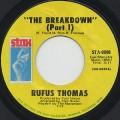 Rufus Thomas / The Breakdown c/w Part2