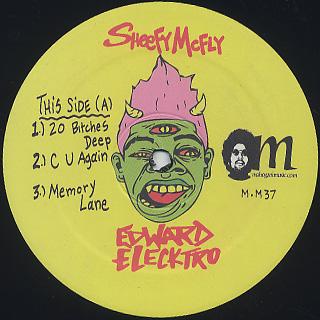 Sheefy McFly / Edward Elecktro label