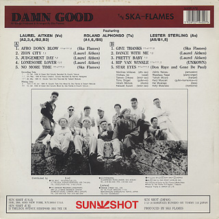 Ska-Flames / Damn Good back