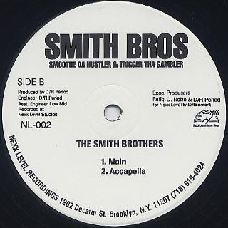 Smoothe Da Hustler & Trigger Tha Gambler / The Smith Brothers back