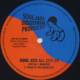 Soul 223 / All City EP back