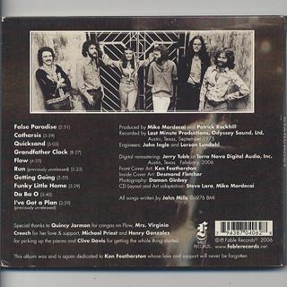Starcrost / S.T. (CD) back