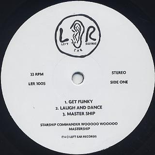 Starship Commander Wooooo Wooooo / Mastership label