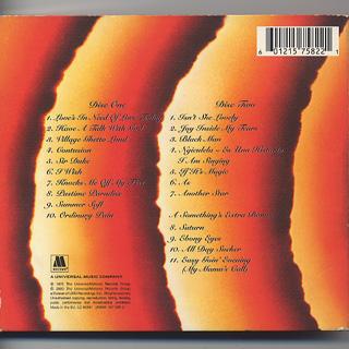 Stevie Wonder / Songs In The Key Of Life (CD) back