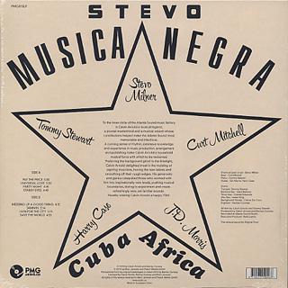 Stevo / Musica Negra back