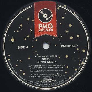 Stevo / Musica Negra label