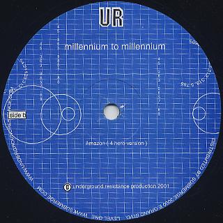 Underground Resistance / Millennium To Millennium back