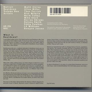 V.A. / Detroit Beatdown (CD) back