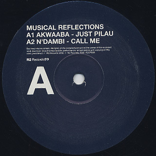 V.A. / Ron Trent: Musical Reflections label