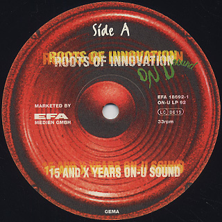 V.A. / Roots Of Innovation - 15 And X Years On-U Sound label