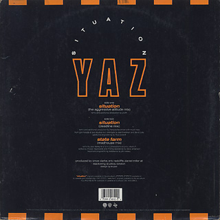 Yaz / Situation (Remix) back