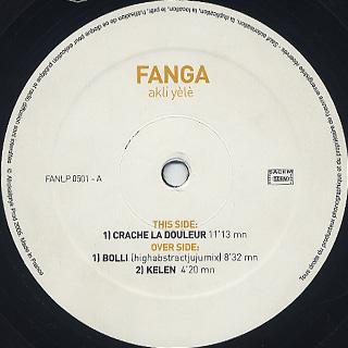 Fanga / Akli Yèlè label