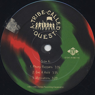 A Tribe Called Quest / Beats Rhyme And Life (2LP) label