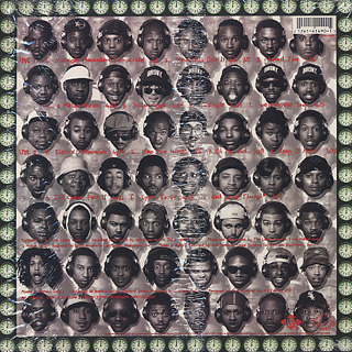 A Tribe Called Quest / Midnight Marauders back