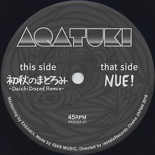 Aqatuki / Nue! label