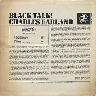 Charles Earland / Black Talk back