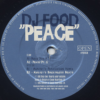 DJ Food / Peace back