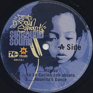 Djinji Brown / Sirround Sound (2LP) label