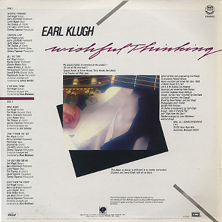 Earl Klugh / Wishful Thinking back