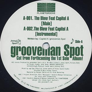 Grooveman Spot / Eternal Development EP1 back