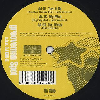 Grooveman Spot a.k.a. DJ Kou-G / [Eternal Development] Remixes Part.6 label
