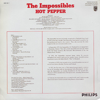 Impossibles / Hot Pepper back