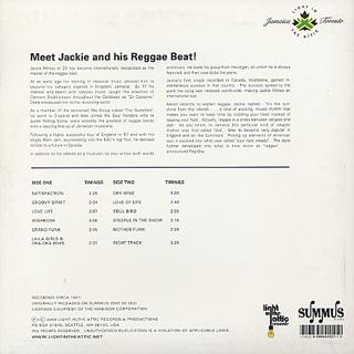 Jackie Mittoo / Wishbone back