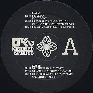 Kid Sublime / Basement Soul (2LP) label