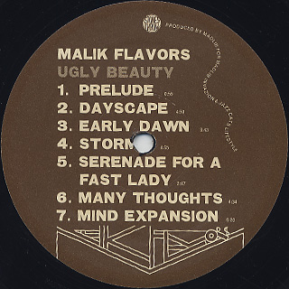 Malik Flavors / Ugly Beauty label