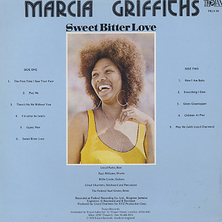 Marcia Griffiths / Sweet Bitter Love back