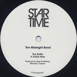 Midnight Band / The Bottle / A Dollar Nine front
