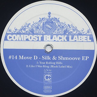 Move D / Silk & Shmoove EP
