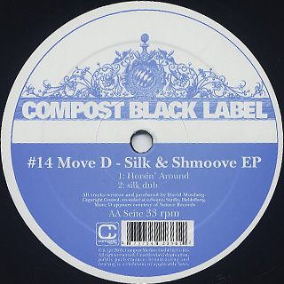 Move D / Silk & Shmoove EP back