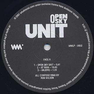 Open Sky Unit / S.T. label