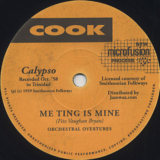 Orchestral Overtures / Me Thing Is Mine
