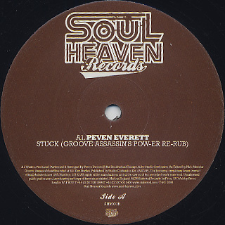 Peven Everett / Stuck back
