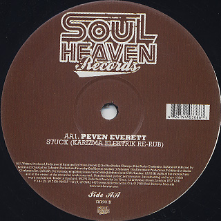 Peven Everett / Stuck label
