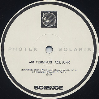 Photek / Solaris label