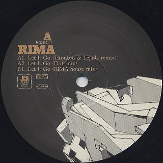 Rima Featuring Julie Dexter / Let It Go label